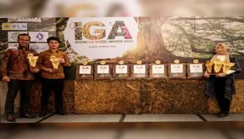Berkontribusi Terhadap Pelestarian Satwa Endemik, PLN Babel Diganjar Penghargaan IGA Award 2020