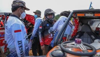 Bersama Kapolda dan Danrem, Gubernur Erzaldi Jajal Circuit Offroad