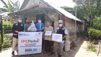 Bersama Pelindo II, ACT dan MRI Bangka Distribusikan Ratusan Paket Sembako Ramadhan