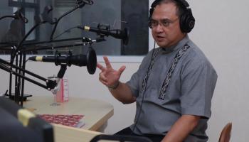 Bersama RRI Pro 3 Jakarta, Gubernur Erzaldi Jelaskan Perkembangan Covid-19 di Kepulauan Babel