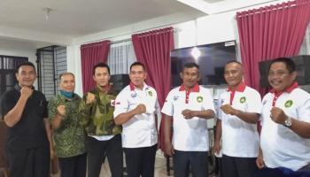 Bertemu Ketua DPRD, Pertina Bangka Jelaskan Program Kerja