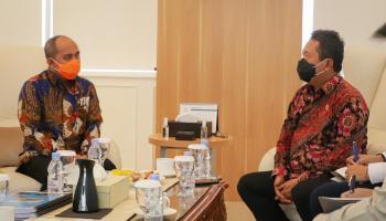 Bertemu Menteri KKP, Wali Kota Pangkalpinang Sampaikan Lima Usulan