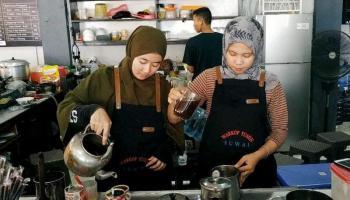 Besarnya Potensi Bisnis Kedai Kopi, Pemkot Pangkalpinang Akan Lahirkan Barista Handal