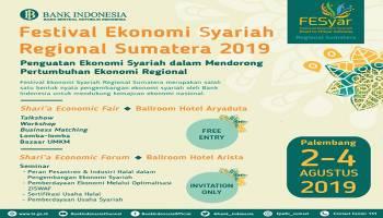 Besok Festival Ekonomi Syariah Regional Sumatera Digelar