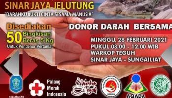 Besok, Pemuda Sungailiat Ajak Warga Donor Darah