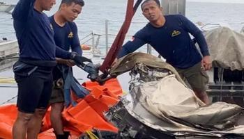 Black Box Sriwijaya Air SJ 182 Diduga Tertimbun Puing-Puing Pesawat