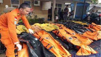 BNPB: Korban Meninggal Tsunami Selat Sunda Jadi 373 Orang