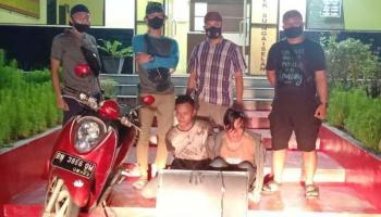 Bobol Kontrakan, Ari Wahyu dan Jumaidan Diringkus Tim Reskrim Polsek Sungaiselan