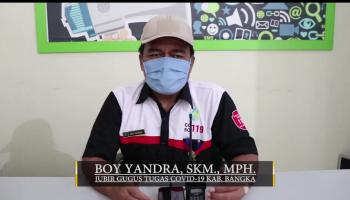Boy Yandra : Pemkab Bangka Siap Mendukung Rencana Penerapan New Normality dari Presiden RI