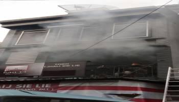 Breaking News: Api masih Melahap Toko Sembako