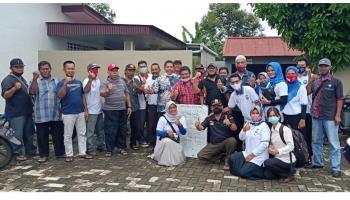 Budi Daya Jahe Merah, PT AES Akan Kucurkan Bantuan Rp 10 Juta Bagi Ketua RT