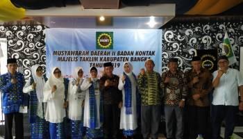 Buka Musda BKMT Bangka ke II, Mulkan Imbau Sampaikan Pendapat Dengan Santun