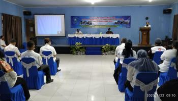 Buka Pelatihan Vocasional Ikan, Mulkan Harap Peserta Ikuti Kegiatan Sampai Tuntas