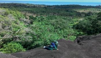 Bukit NIbung Suguhkan Panorama dari Ketinggian