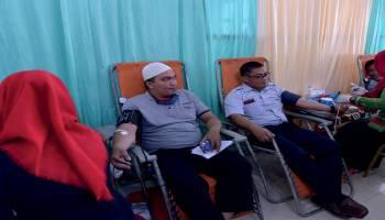 Bulan Bakti 42 Tahun PT Timah Sunat Massal Hingga Donor Darah