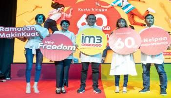 Bulan Suci Ramadhan, IM3 Ooredoo Manjakan Pelanggan Setia dengan Paket New Freedom