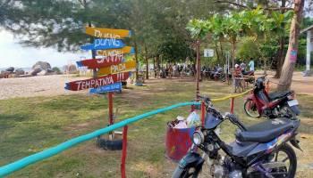 Buntut Aksi Blokir Jalan Oleh Nelayan Batu Perahu, Pantai Batu Perahu dan Kelisut Sepi Pengunjung
