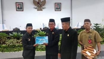 Bupati Bangka Ajukan Raperda Pembentukan Kecamatan Baru