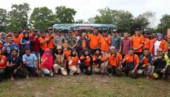 Bupati Bangka Kukuhkan 125 Anggota Tim Relawan Bencana Desa Bukit Layang