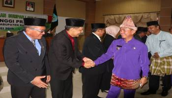 Bupati Bangka Lantik 10 Pejabat Tinggi Pratama