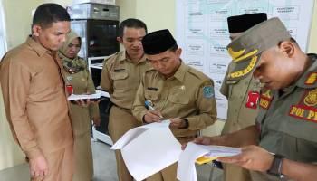 Bupati Bangka Sidak Tiga Puskesmas dan Lima Kecamatan
