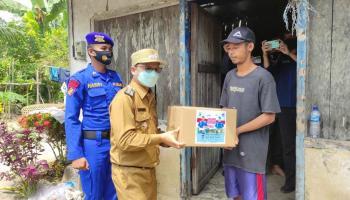 Bupati Bateng Apresiasi Polda Babel Beri Bantuan kepada Warga Pulau Nangka