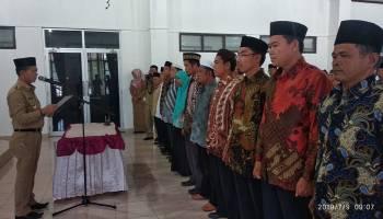 Bupati Lantik Pengurus Badan Wakaf Indonesia Kabupaten Bangka