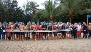 Bupati Mulkan Buka Sungailiat Triathlon 2019
