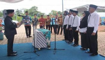 Bupati Mulkan Lantik 5 Anggota BPD Petaling Banjar