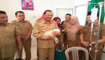 Bupati Parhan Bangga dengan Pelayanan RSUD Sejiran Setason