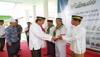 Bupati Parhan Minta Calon Jemaah Haji Doakan Kabupaten Bangka Barat