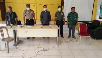 Butuh Data ODP Hingga Ke Desa, Simpang Rimba Bentuk Relawan Satgas Pandemi Covid -19