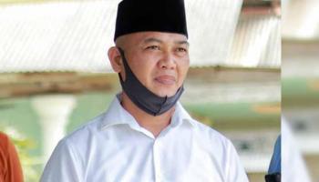 Calon Wakil Bupati Bangka Tengah Heri Erfian Dinyatakan Sembuh Covid-19