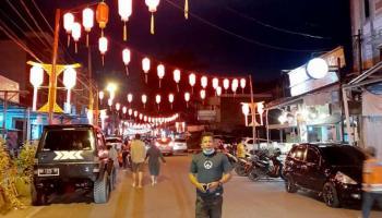 Cantiknya Kawasan Chinatown di Kampung Bintang, Bisa Berburu Kuliner Juga