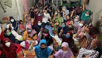 Cawabup Bangka Tengah Herry Erfian Dukung Aktivitas Majelis Taklim