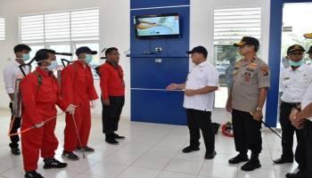 Cegah Corona Masuk Babel, Gubernur dan Kapolda Periksa Pelabuhan Sadai