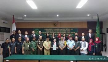 Cegah Korupsi di Pemkab Bangka, PN Sungailiat Lakukan Penandatanganan WBK