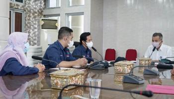 Cegah Maladministrasi Vaksinasi Covid-19, Ombudsman Babel Datangi Pemkot Pangkalpinang