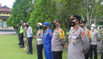 Cegah Mudik, Polres Bateng Terjunkan 120 Personel Gabungan Jaga Perbatasan Hingga Jalan Tikus