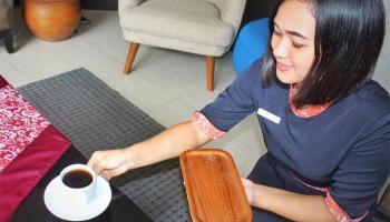 Cek In di Bangka City Hotel Gratis Minuman Wedang Jahe