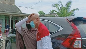 Cerita Ibu Hamil Ngidam Ingin Mengelus Kepala Ketua DPRD Babel