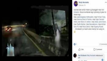 Cerita Mistis Perjalanan Semarang-Bogor, Pengemudi Lihat Kuntilanak Nyeberang Tol