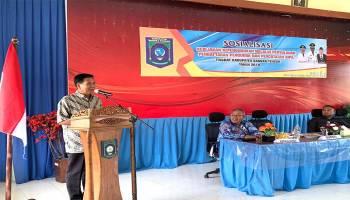 Ciptakan Birokrasi Yang Efisien, Pemkab Bateng Gelar Sosialisasi Pencatatan Administrasi Penduduk