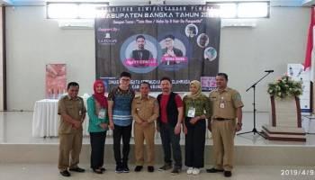 Ciptakan SDM Tata Rias Terampil, Disparpora Bangka Datangkan Professional Make Up Artist Jakarta
