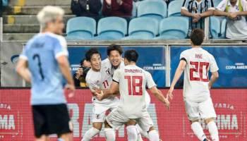 Copa America 2019: Dua Kali Unggul, Jepang Ditahan Uruguay