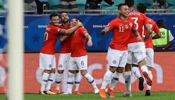 Copa America 2019: Singkirkan Ekuador, Cile Melaju ke Babak Perempat Final