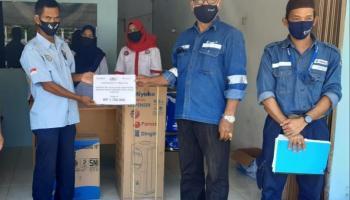 CSR PT Timah Kucurkan Bantuan Perlengkapan Kantor SPSI Bangka Barat
