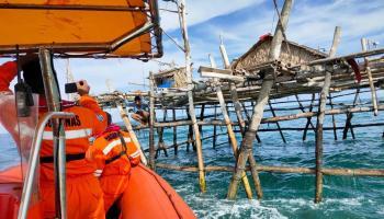 Cuaca Buruk, Pemancing Hilang di Perairan Pantai Rebo