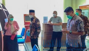Cuti Bersama Isra Miraj Dihapus, Wabup Bateng Sidak Kehadiran Pegawai
