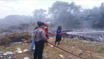 Dalam Sepekan, Tiga Kebakaran Lahan Terjadi di Bateng